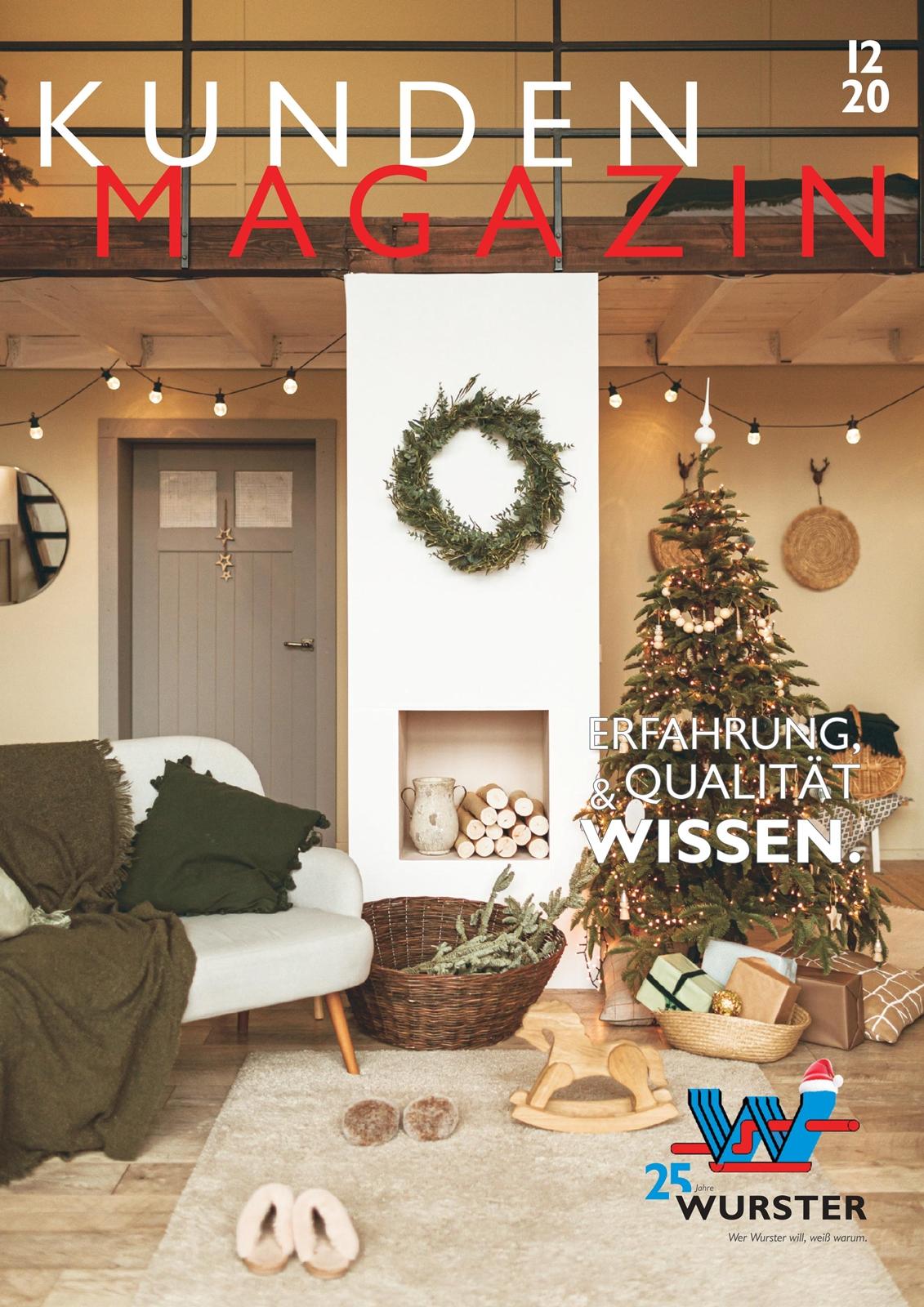 Titelseite Kundenmagazin Winter 2020